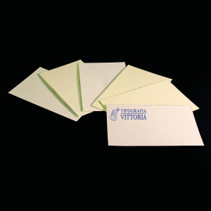 Business cards printed on cards fine typography