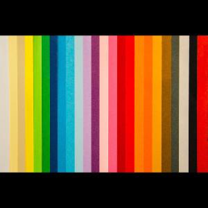 Esempi di colori di cartoncino Fabriano per cartelline fascette e costoline